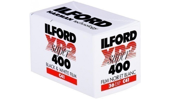 Ilford film XP2 Super 400/36