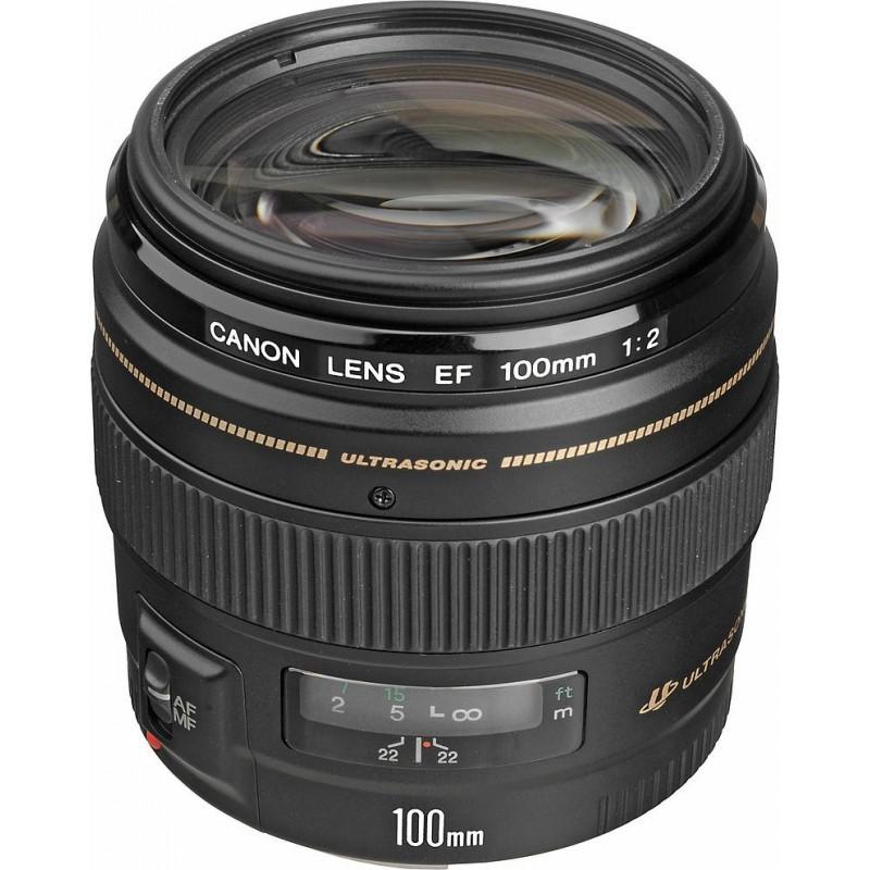 Canon EF 100mm f/2.0 USM objektiiv