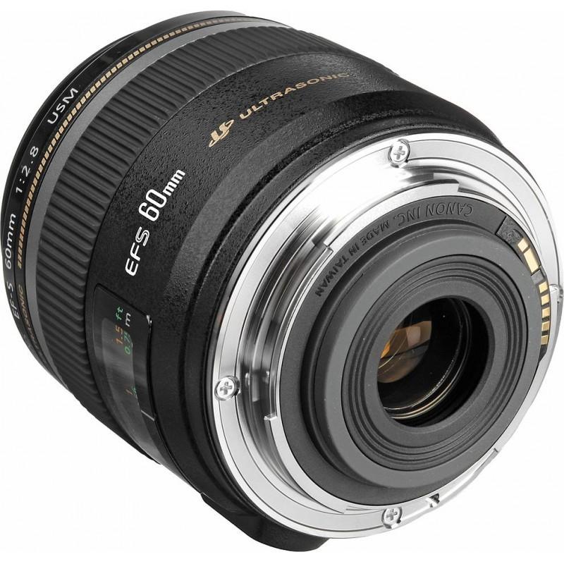 Canon EF-S 60mm f/2.8 Macro USM objektiiv