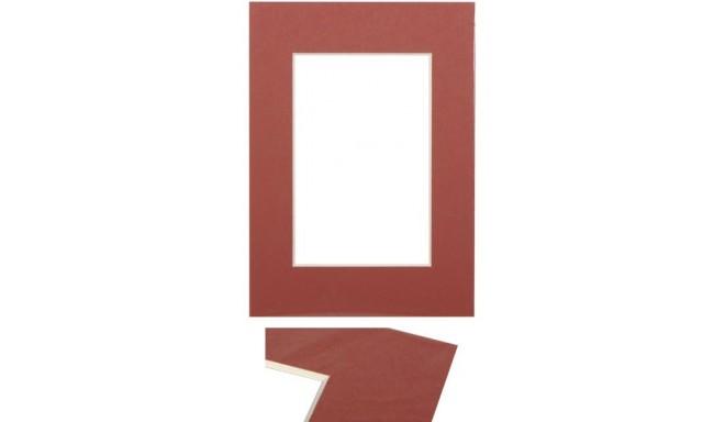 Passepartout 15x21, brick