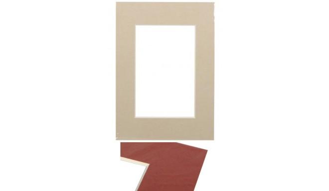 Passepartout 21x29.7, beige