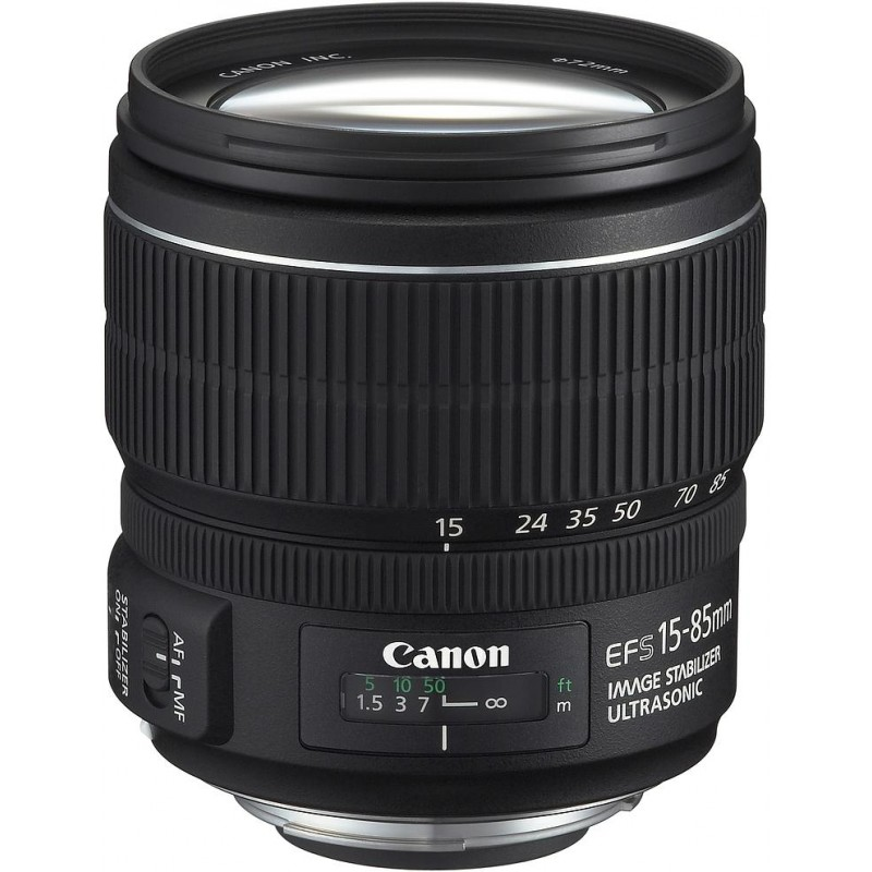 Canon EF-S 15-85mm f/3.5-5.6 IS USM objektiiv