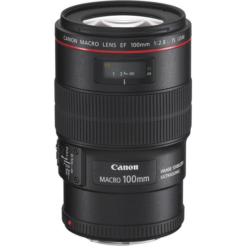 Canon EF 100mm f/2.8L USM IS Macro objektiiv
