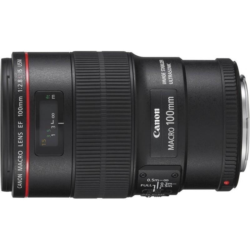 Canon EF 100мм f/2.8L USM IS Macro объектив