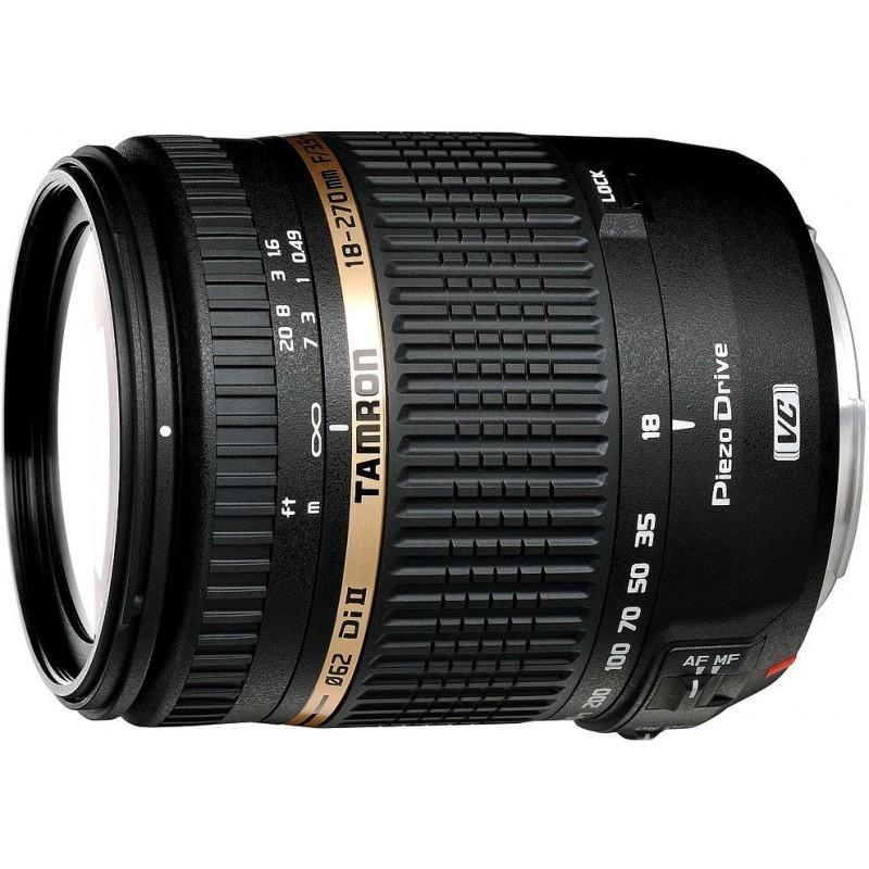 Tamron AF 18-270mm f/3.5-6.3 Di II VC PZD objektiiv Nikonile