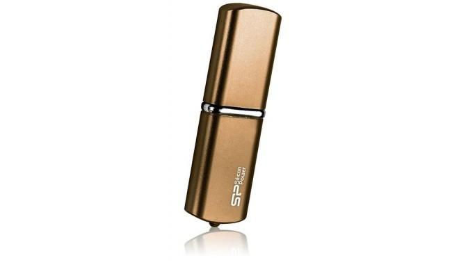 Silicon Power mälupulk 16GB LuxMini 720, pronks