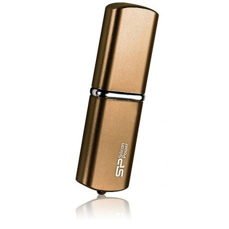 Silicon Power mälupulk 32GB LuxMini 720, pronks