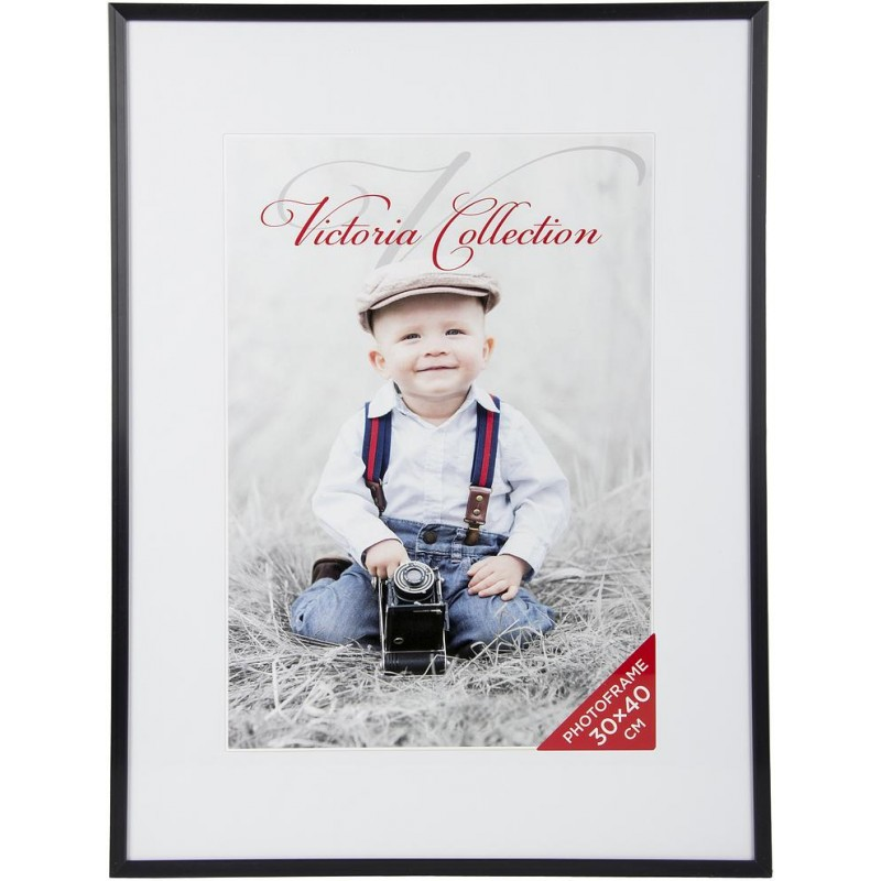 Photo frame Aluminium 30x40, black matte - Photo frames