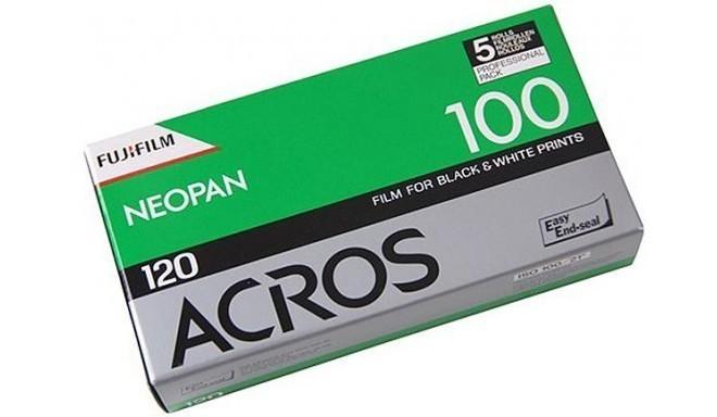 Fujifilm film Neopan Acros 100-120×5