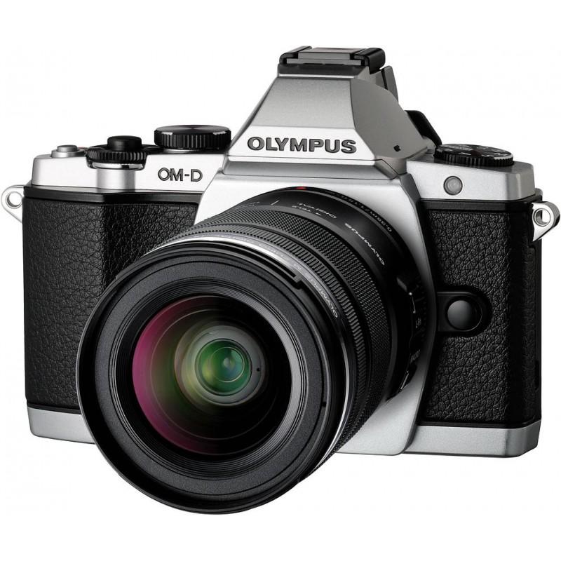 Olympus OM-D E-M5 + ED 12-50mm Kit, hõbedane