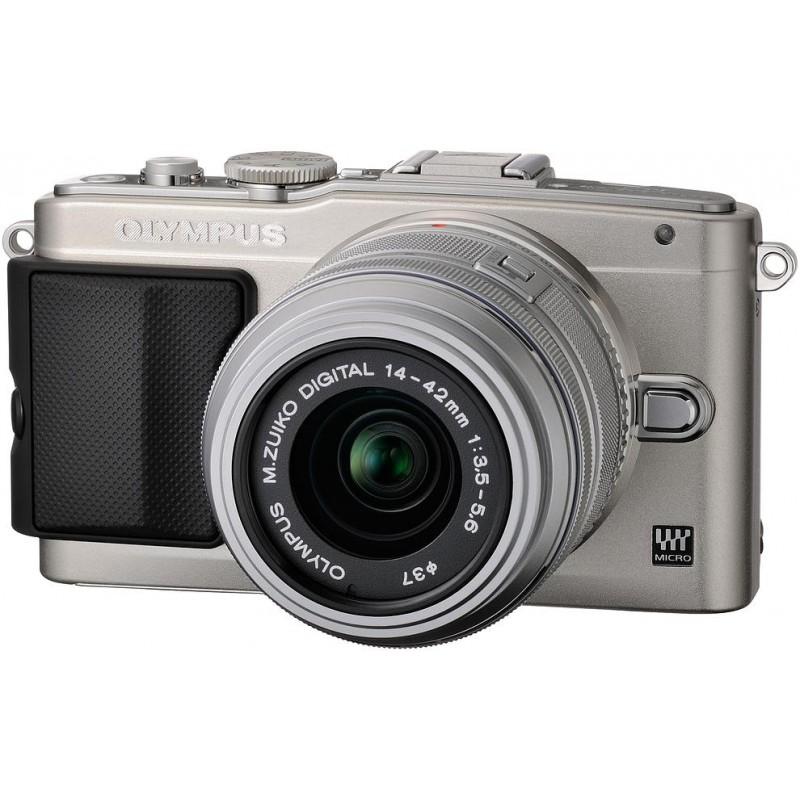 Olympus PEN Lite E-PL5 + 14-42 мм Kit серебристый