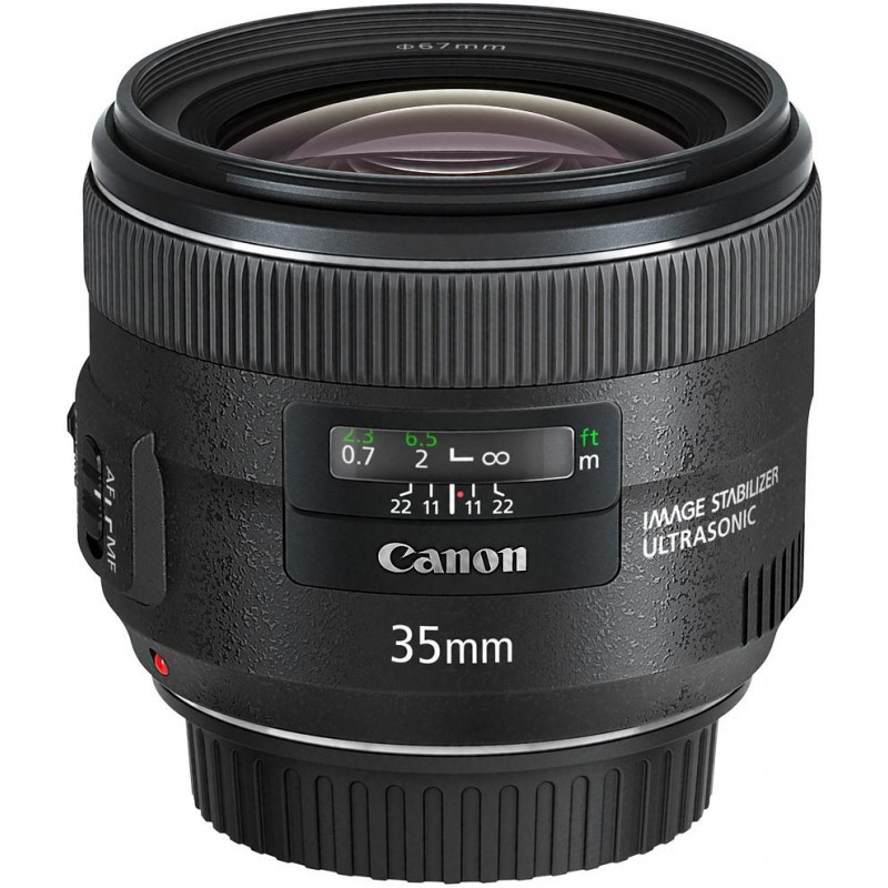 Canon EF 35mm f/2.0 IS USM objektiiv