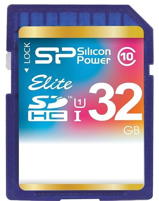 Silicon Power mälukaart SDHC 32GB Elite