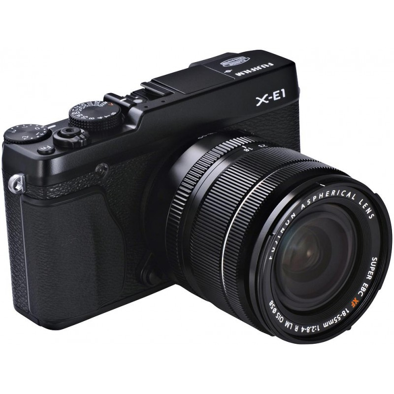 Fujifilm X-E1 + 18-55mm, must