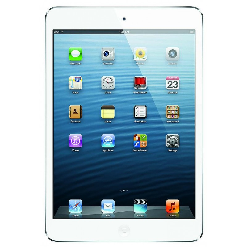 Apple iPad mini 16GB WiFi + 4G A1455 valge/hõbedane