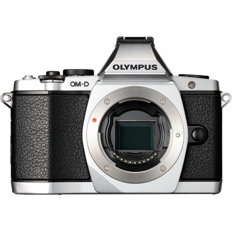 Olympus OM-D E-M5  kere, hõbedane