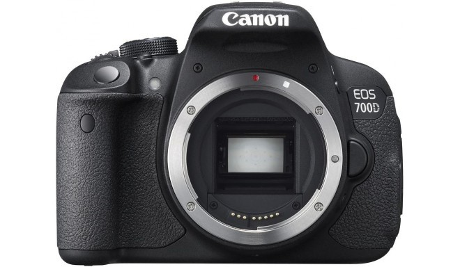 Canon EOS 700D, корпус