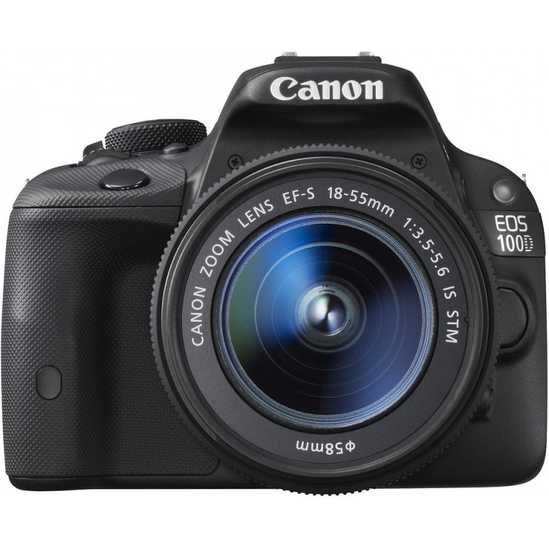Canon EOS 100D + 18-55мм IS STM Kit, черный