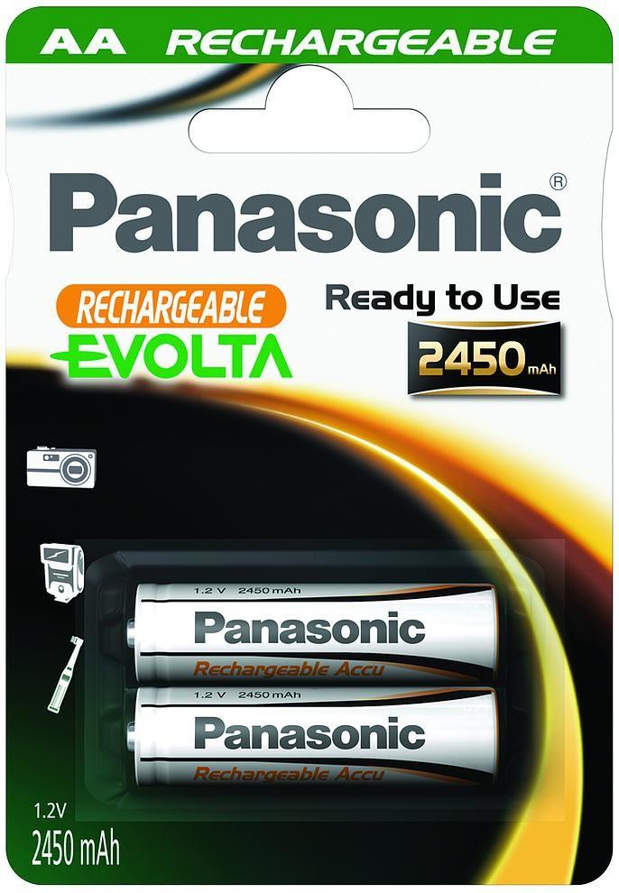 Panasonic Evolta aku AA 2450mAh P-6E/2B
