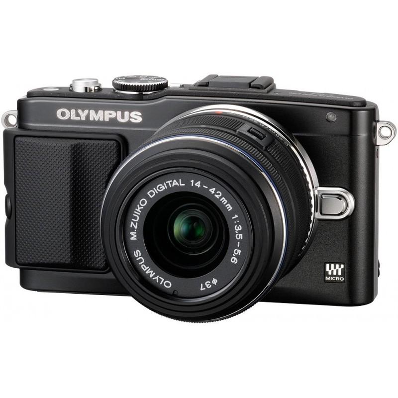 Olympus PEN Lite E-PL5 + 14-42 мм II Kit чёрный