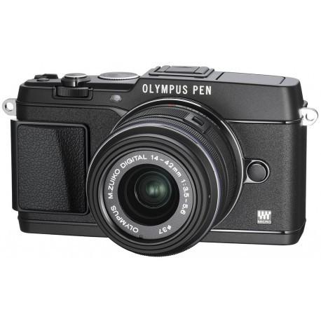 Olympus PEN E-P5 + 14-42mm II Kit, black