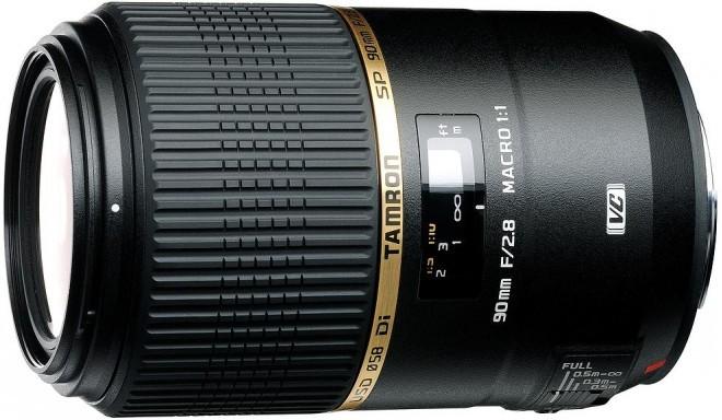 Tamron SP 90mm f/2.8 Di USD Macro objektiiv Sonyle