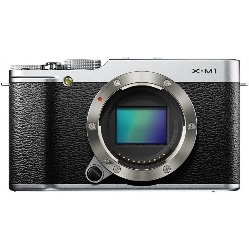 Fujifilm X-M1  kere, hõbedane