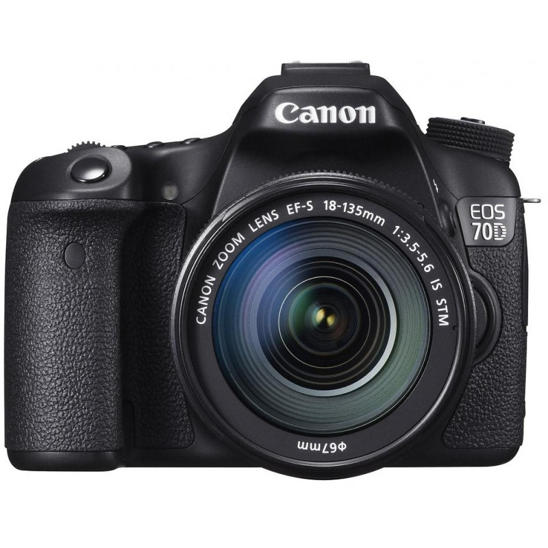 Canon EOS 70D + 18-135 =мм IS STM Kit