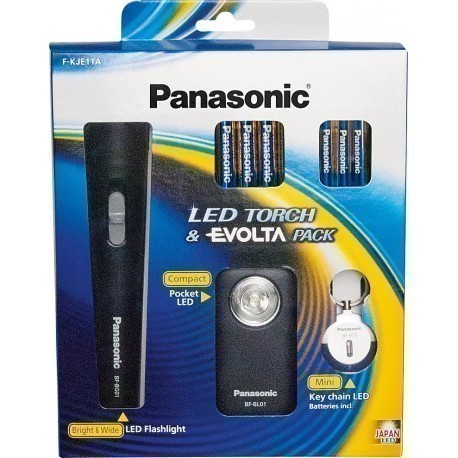 Panasonic taskulambi komplekt F-KJE11AE