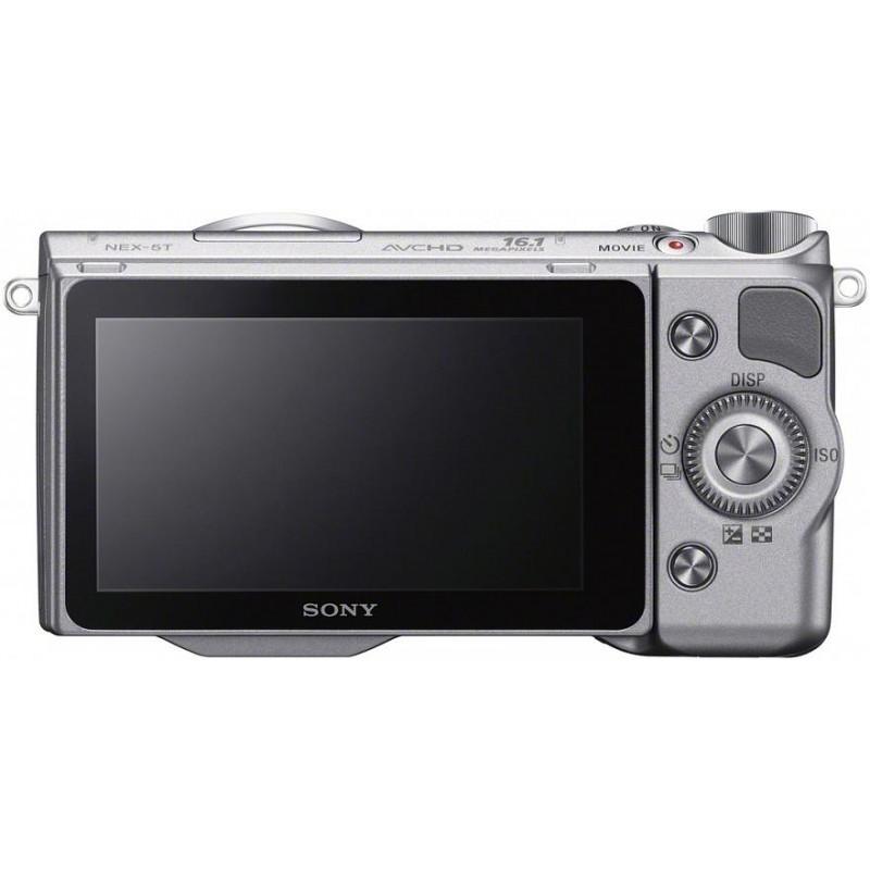 Sony NEX-5T + 16-50mm Kit, hõbedane