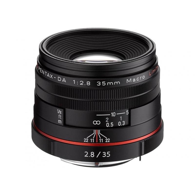 HD Pentax DA 35 мм f/2.8 Macro Limited чёрный