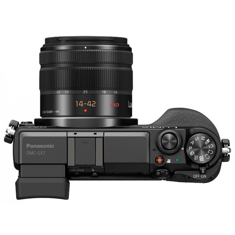 Panasonic Lumix DMC-GX7 + 14-42 мм, чёрный
