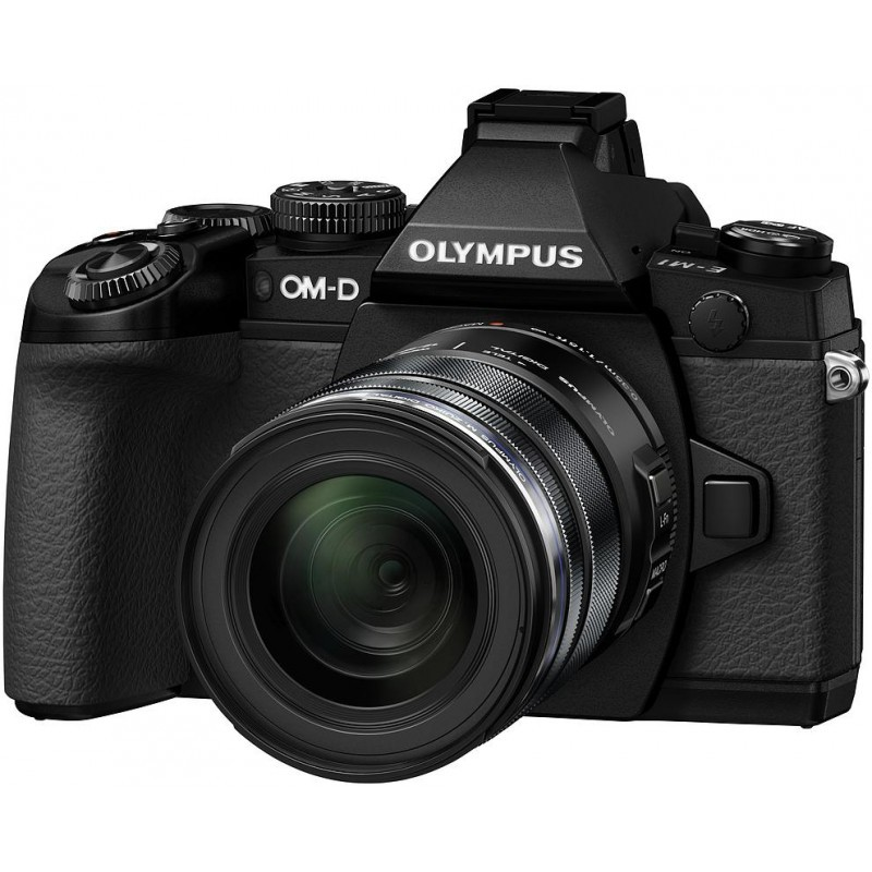 Olympus OM-D E-M1 + ED 12-50mm Kit
