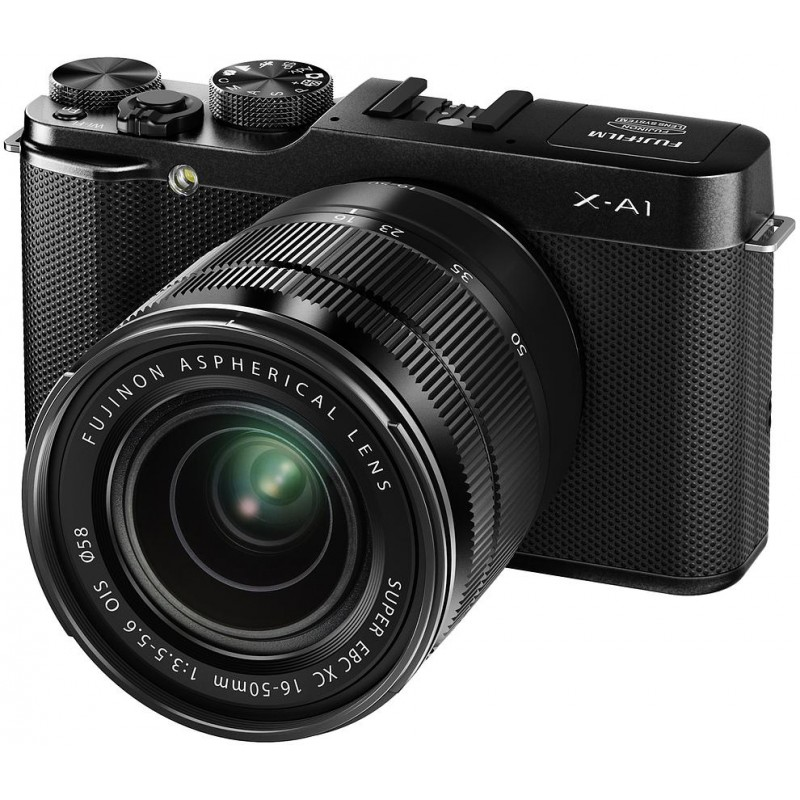 Fujifilm X-A1 + 16-50mm, must