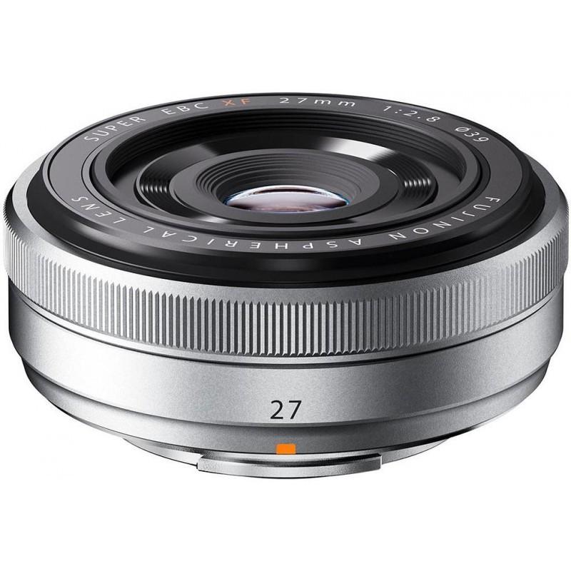 Fujifilm XF-27 мм f/2.8 серебристый