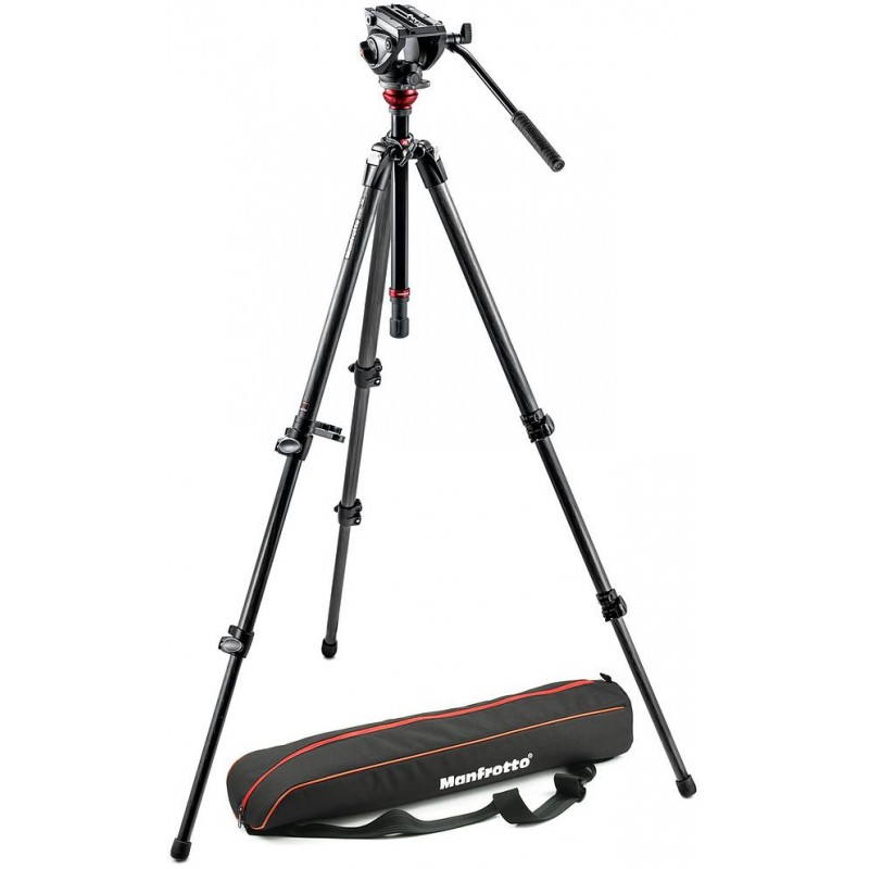 Manfrotto tripod kit 755CX3 + MVH500AH video head