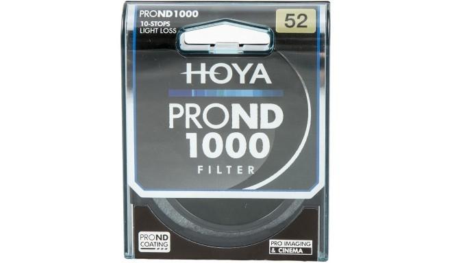 Hoya filter neutraalhall ND1000 Pro 52mm