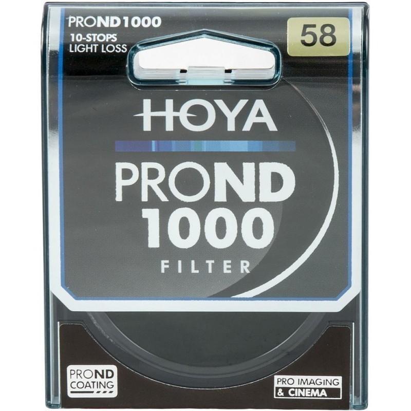 Hoya filter neutraalhall ND1000 Pro 58mm