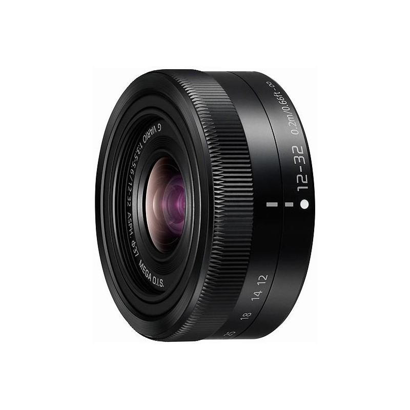 Panasonic Lumix G Vario 12-32mm f/3.5-5.6 ASPH./MEGA O.I.S. objektiiv, must