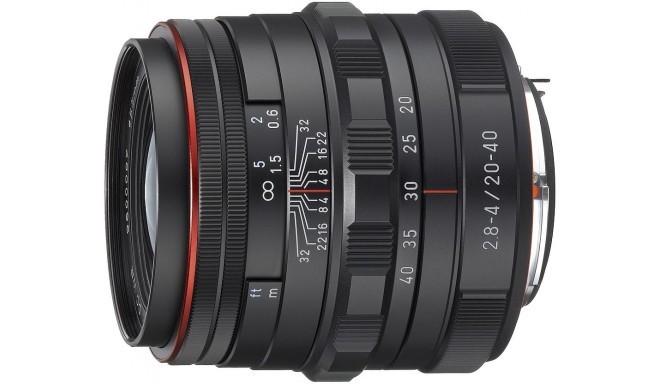 HD Pentax DA 20-40mm f/2.8-4.0 ED DC WR Limited objektiiv, must