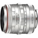 HD Pentax DA 20-40mm f/2.8-4.0 ED DC WR Limited hõbedane objektiiv