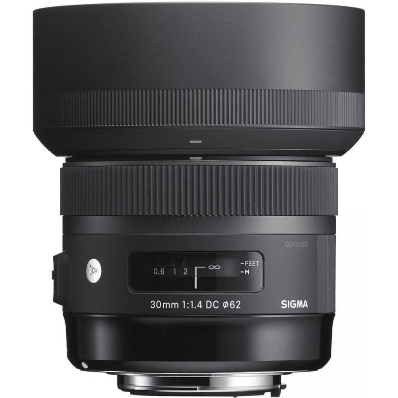 Sigma AF 30mm f/1.4 DC HSM A lens for Canon