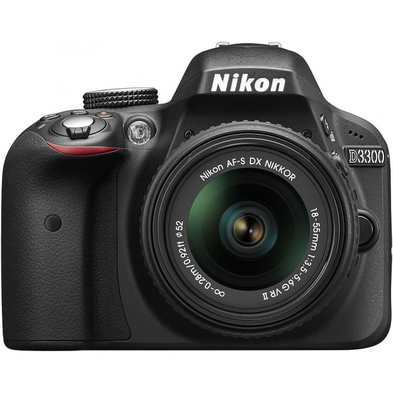 Nikon D3300 + 18-55mm VR II Kit, must