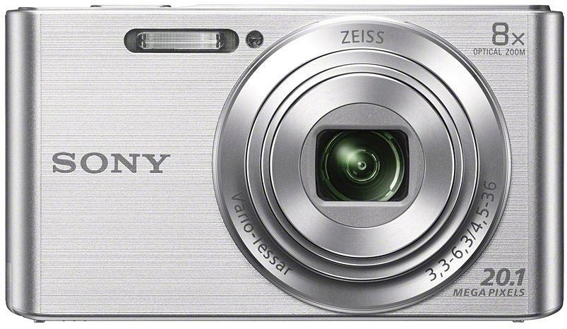 Sony DSC-W830, hõbedane