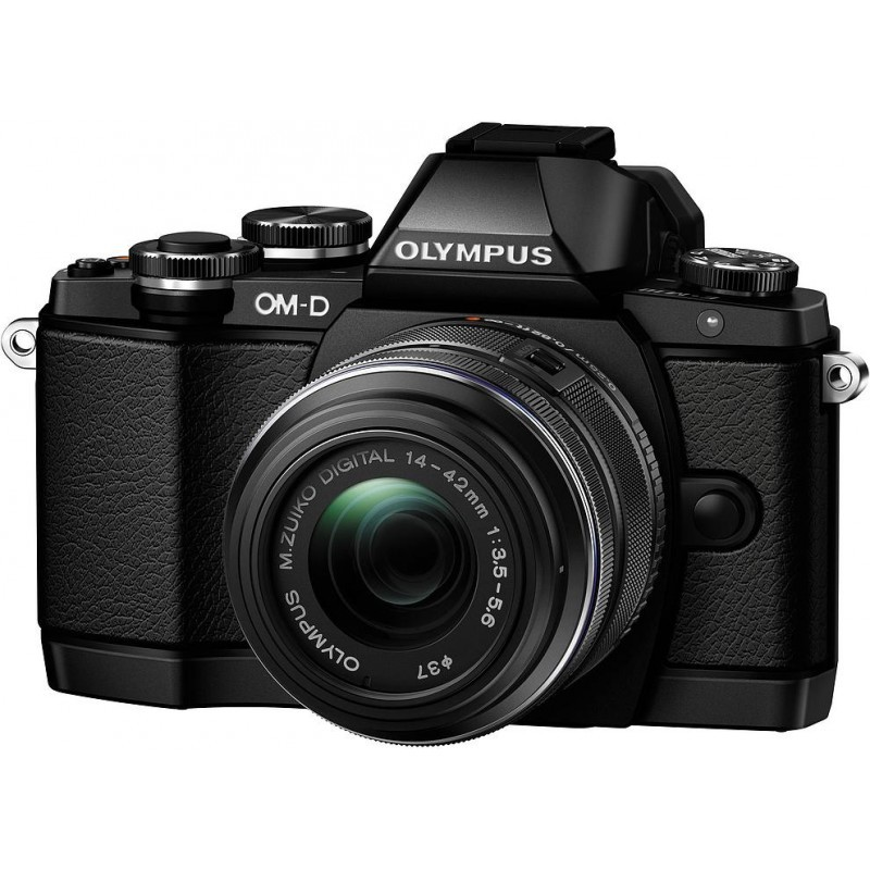 Olympus OM-D E-M10 + 14-42mm II R Kit, must