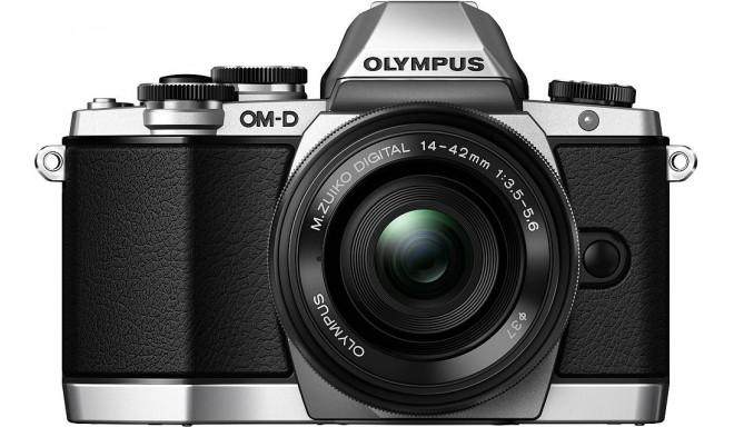 Olympus OM-D E-M10 + 14-42мм II R Kit, серебристый