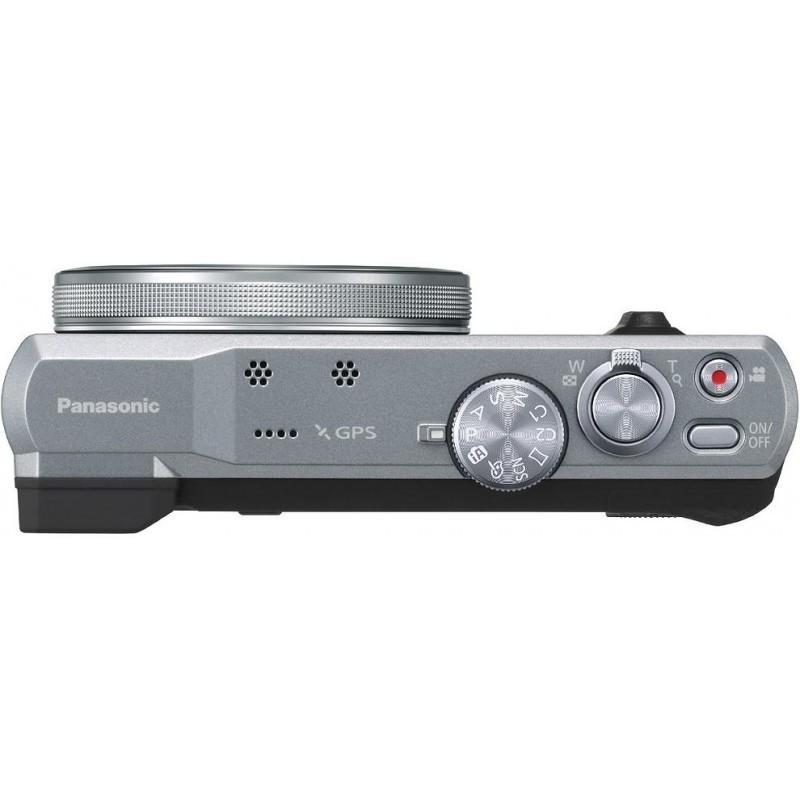 Panasonic Lumix DMC-TZ60, hõbedane