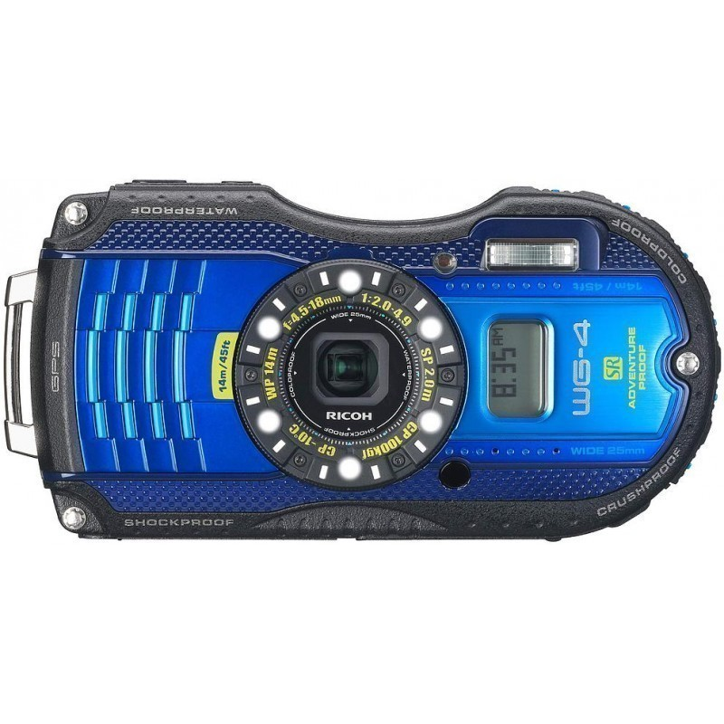 Ricoh WG-4 GPS, sinine