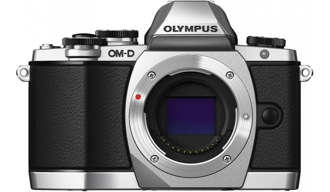 Olympus OM-D E-M10 корпус, серебристый
