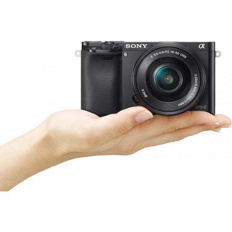 Sony a6000 + 16-50 мм Kit, чёрный
